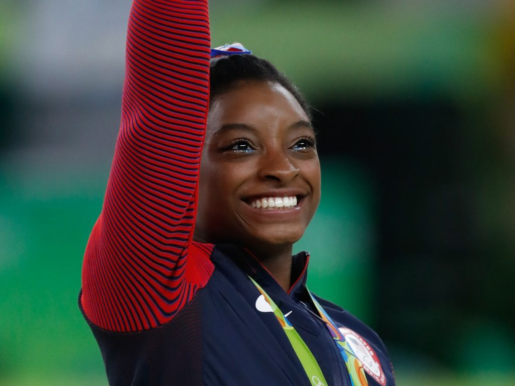 Simone Biles is the greatest gymnast of all time. She has Attention Deficit Hyperactive Disorder.