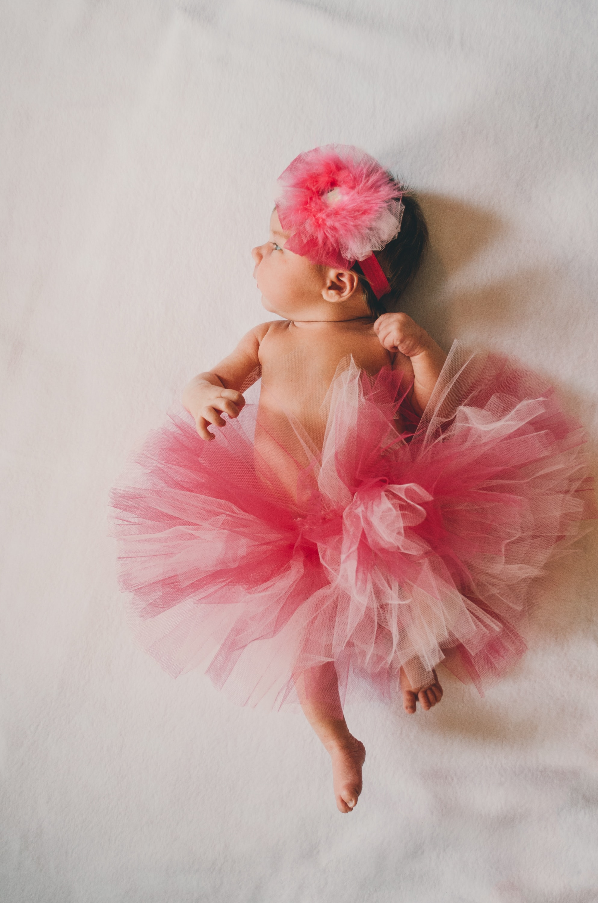 For decades, pink has been the staple color for baby girls. In recent years, more and more parents have been dressing their children in more neutral colors.