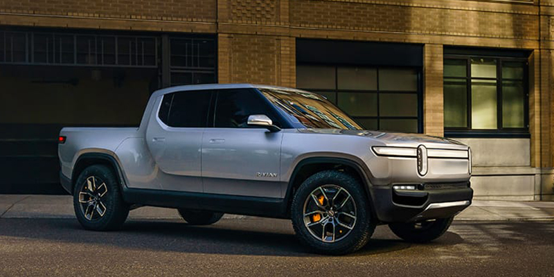 All right, Elon. Here's the competition. The Rivian R1T.