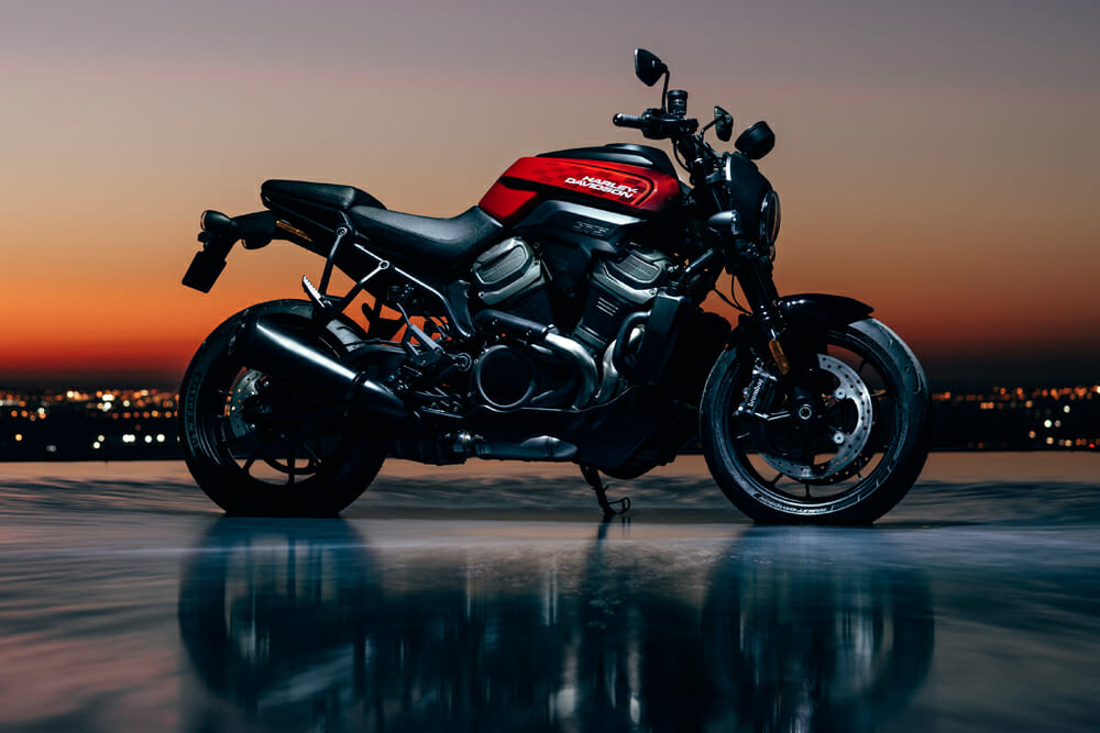 The Harley-Davidson Pan America will be on sale for the 2021 model year.