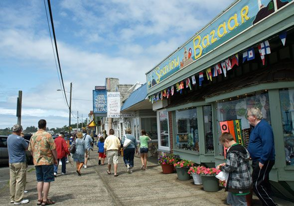 Downtown Depoe Bay will welcome you and travelers of all ages.