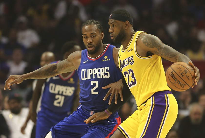 Your Christmas Day basketball gift is the Clippers and Lakers in prime time.