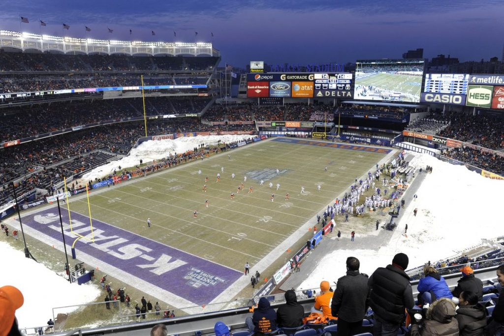 The 2019 bowl games on our radar includes this one in frigid New York City.