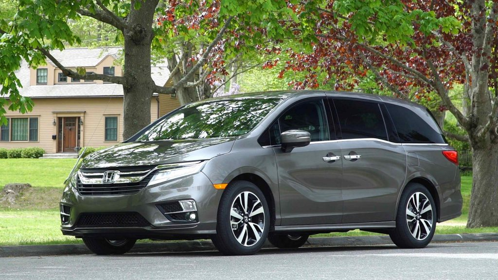 If your Honda Odyssey looks like this one, it may be due for recall over transmission weirdness.