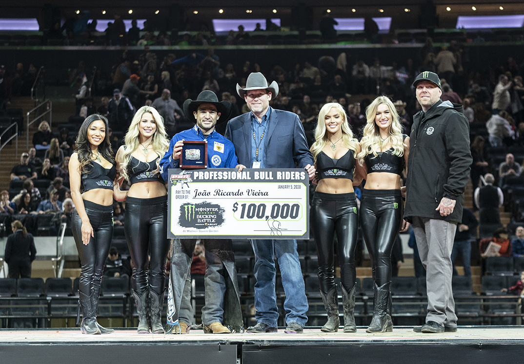 Bull Riders Open 2020 Season at Madison Square Garden