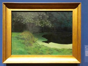 The Pond 1909 displayed at Metropolitan Museum of Art in New York City (Photo: Ceara Rossetti/Gildshire)