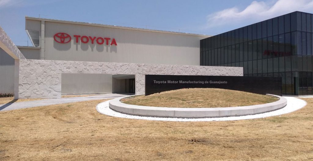 Toyota manufacturing in Mexico will increase as production ramps up in this Guanajuato plant.