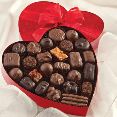 Valentine's Day facts are much tastier with chocolates.