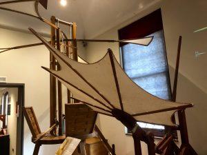 Leonardo da Vinci Museum in Venice, Italy: Flying machine (Photo: Ceara Rossetti)