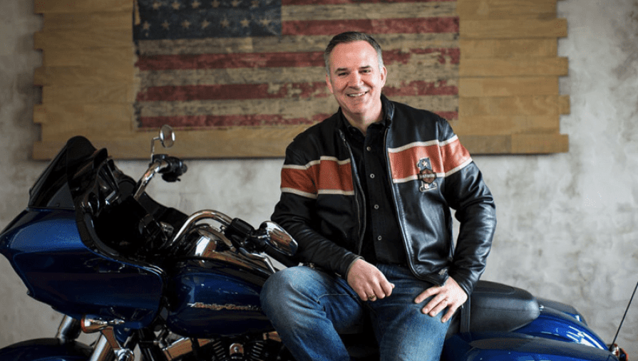 Matt Levatich is out as CEO, as Harley-Davidson is in serious trouble.