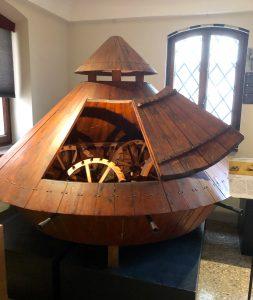 Leonardo da Vinci Museum in Venice, Italy: Tank (Photo: Ceara Rossetti)
