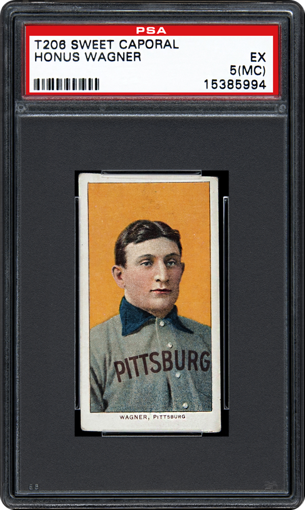 This is Number One of the top ten baseball cards ever made.