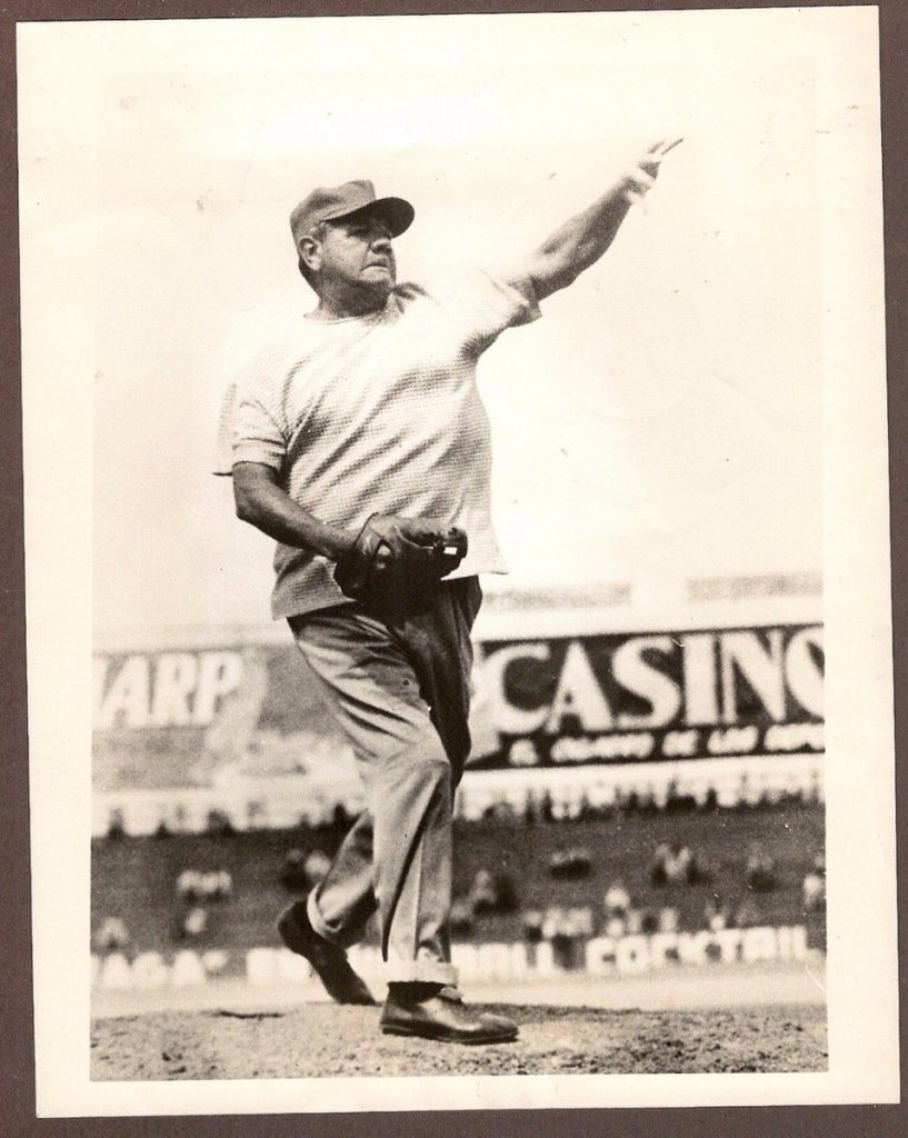 Babe Ruth as a pitcher secures his spot in our list of the greatest players in pro sports history.