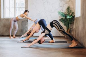 Hot Yoga is one of the Dangerous Workout Trends is not done properly.