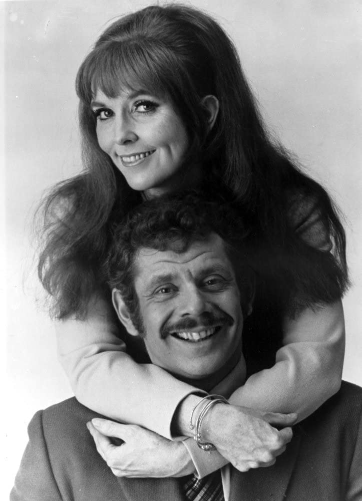 Actor/comedian Jerry Stiller with his wife Anne Meara, during the hey-day of their comedy team.