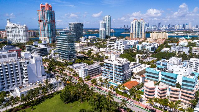 Beautiful Miami Beach is one of the beach towns in danger.