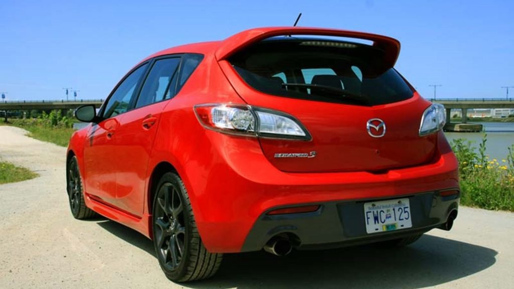 The Mazdaspeed3 had a turbocharger, and that made all the difference...