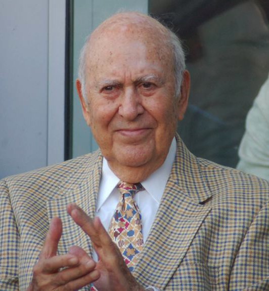 Gildshire remembers Carl Reiner, shown here in 2011.