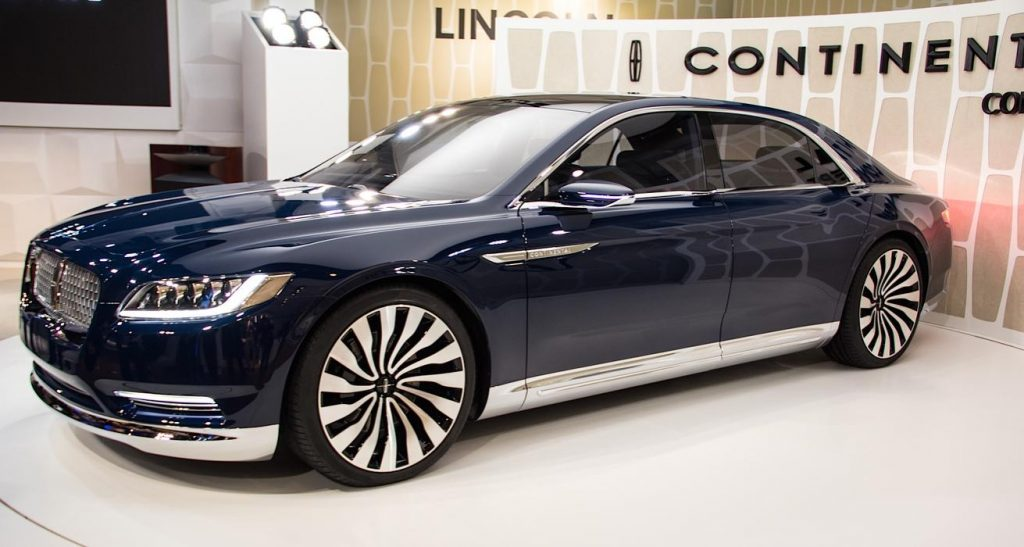 The Lincoln Continental built for 2016 was lauded.