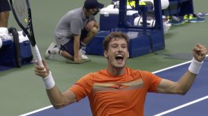 Pablo Carreño Busta, who took his place in the quarterfinals due to Novak Djokovic defaulting, proved that he deserves his spot in the late stages of a Grand Slam by defeating much-fancied youngster Denis Shapovalov in a 5-set marathon.