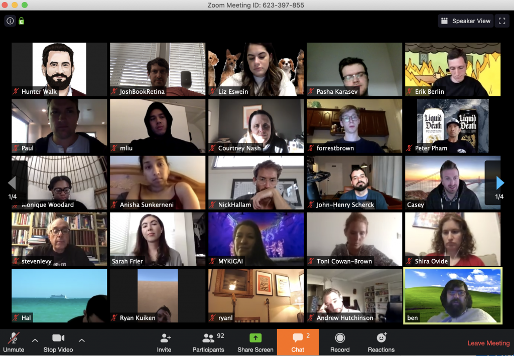 """""""Zoom"""" video conferencing is the gold standard for distance gatherings"""