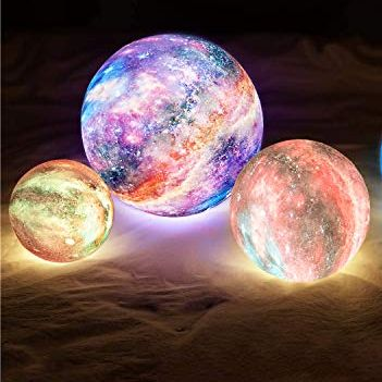 This year's entry into favorite Christmas gifts from the past is the moon lamp