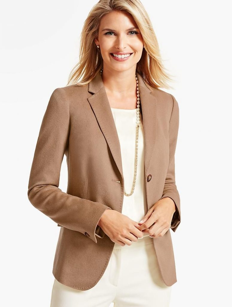 This year, as in many years, a camel-hair coat is a good answer to how to keep your look fashion-forward.